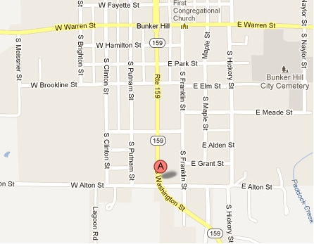 Bunker Hill Illinois Map.Bunker Hill Chiropractic Clinic Physical Therapy Hours Location